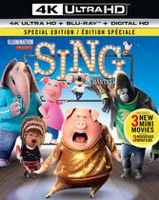 Sing (4K Ultra HD + Blu-ray + Digital HD) (Bilingual)
