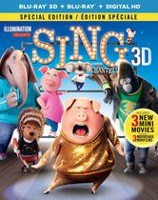 Sing (3D + Blu-ray + Digital HD) (Bilingual)