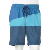 George Men's Plus Size Swim Shorts Blue 3XL