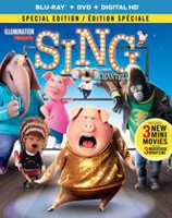 Sing (Blu-ray + DVD + Digital HD) (Bilingual)