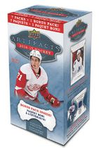 Upper Deck 2016-2017 Artifacts Hockey Sports Cards, Value Box - Bilingual