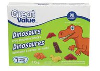 Great Value Dinosaur Fruit Snacks