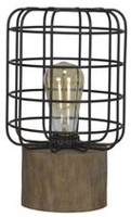 hometrends Black Cage Uplight