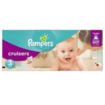 Pampers Couches Cruisers format Super Taille 3