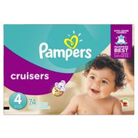 Pampers Couches Cruisers format Super Taille 4