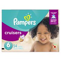 Pampers Couches Cruisers format Super Taille 6