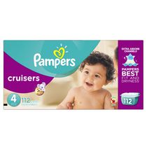 Pampers Cruisers Diapers Giant Pack Size 4