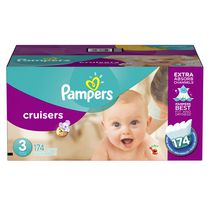 Pampers Cruisers Diapers Economy Pack Plus Size 3