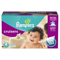 Pampers Cruisers Diapers Economy Pack Plus Size 4