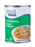 Soupe noces à l'italienne de Great Value