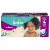 Pampers Cruisers Diapers Economy Pack Plus Size 6