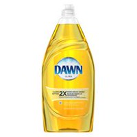 Dawn Lemon Scent Dishwashing Liquid with Active Suds