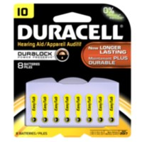 Duracell Hearing Aid Size 10 Batteries