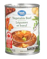 Great Value Beef & Vegetables Soup