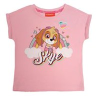 Paw Patrol Girls' Toddler Short Sleeve T-Shirt 3T