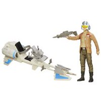 "Star Wars The Force Awakens 12"" Speeder Bike Playset"