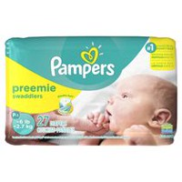 Pampers Swaddlers Diapers, Jumbo Pack Preemie