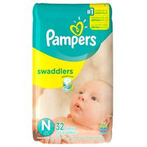 Couches Swaddlers de Pampers format géant