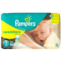 Pampers Swaddlers Newborn Diapers Size 1