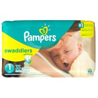 Couches Pampers Swaddlers, format Jumbo Taille 2