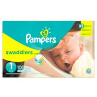 Pampers Swaddlers Diapers Super Pack Size 1