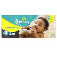 Pampers Couches Swaddlers format Supers Taille 3
