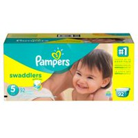 Pampers Couches Swaddlers format géant Taille 5