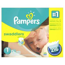 Pampers Swaddlers Diapers Economy Pack Plus Size 1