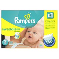 Pampers Swaddlers Diapers Economy Pack Plus Size 2