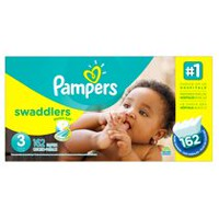 Pampers Swaddlers Diapers Economy Pack Plus Size 3