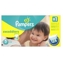 Pampers Swaddlers Diapers Economy Pack Plus Size 5
