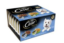 CesarDog Food  Home Delights 12-pack Beef Stew & Chicken Vegetable