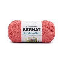 Bernat Handicrafter Cotton Yarn, Tangerine, 14oz(400g), Medium, Cotton