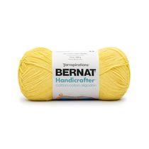 Bernat Handicrafter Cotton Yarn, Sunshine, 14oz(400g), Medium, Cotton