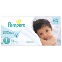 Pampers Couches Swaddlers Sensitive format Super Taille 1