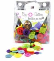 Bag O' Buttons - Brights