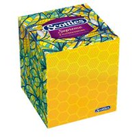 Scotties Supreme 3 Ply Facial Tissue Cube