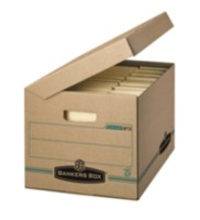 Bankers Box® Enviro Store™ with Attached Lid - 25pk