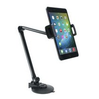 "CTA Digital Ultra-Light Arm Mount with Clamp and Suction Base for Tablets (7-10"") and Smartphones (4.5""-7.75"")"