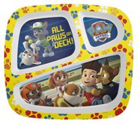 Zak Designs PAW Patrol Boy 3 Section Plate