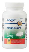 Equate Easy Absorption Magnesium 500 mg