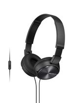 Sony ZX Series Stereo Over-Ear Headphones with Microphone, Black - MDRZX310APB