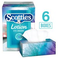 Scotties Lotion 3 Ply Facial Tissue