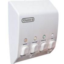 Classic Dispenser IV White