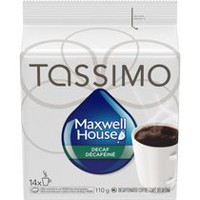 Tassimo Maxwell House Decaffeinated T-Discs Coffee