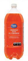 Great Value Orange Soda