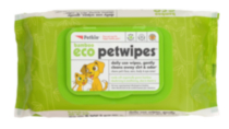 Bamboo Eco Petwipes - 80ct