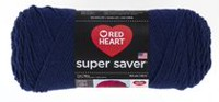 Red Heart Supersaver Yarn Soft Navy