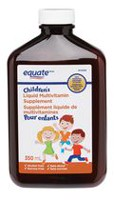 Equate Children's Liquid Multivitamin Supplement