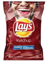 Lay's Ketchup Potato Chips